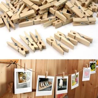Kẹp gỗ trang trí, kẹp gỗ treo ảnh 10 cái