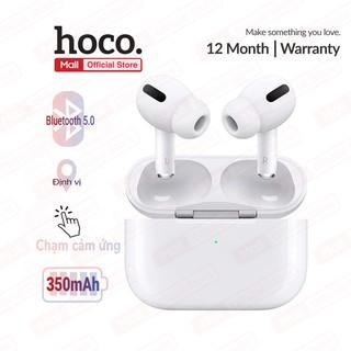 Tai nghe Bluetooth V5.0 Hoco  es.48 True Wireless hỗ trợ định vị, đổi tên, chạm cảm ứng, dung lượng 350mAh