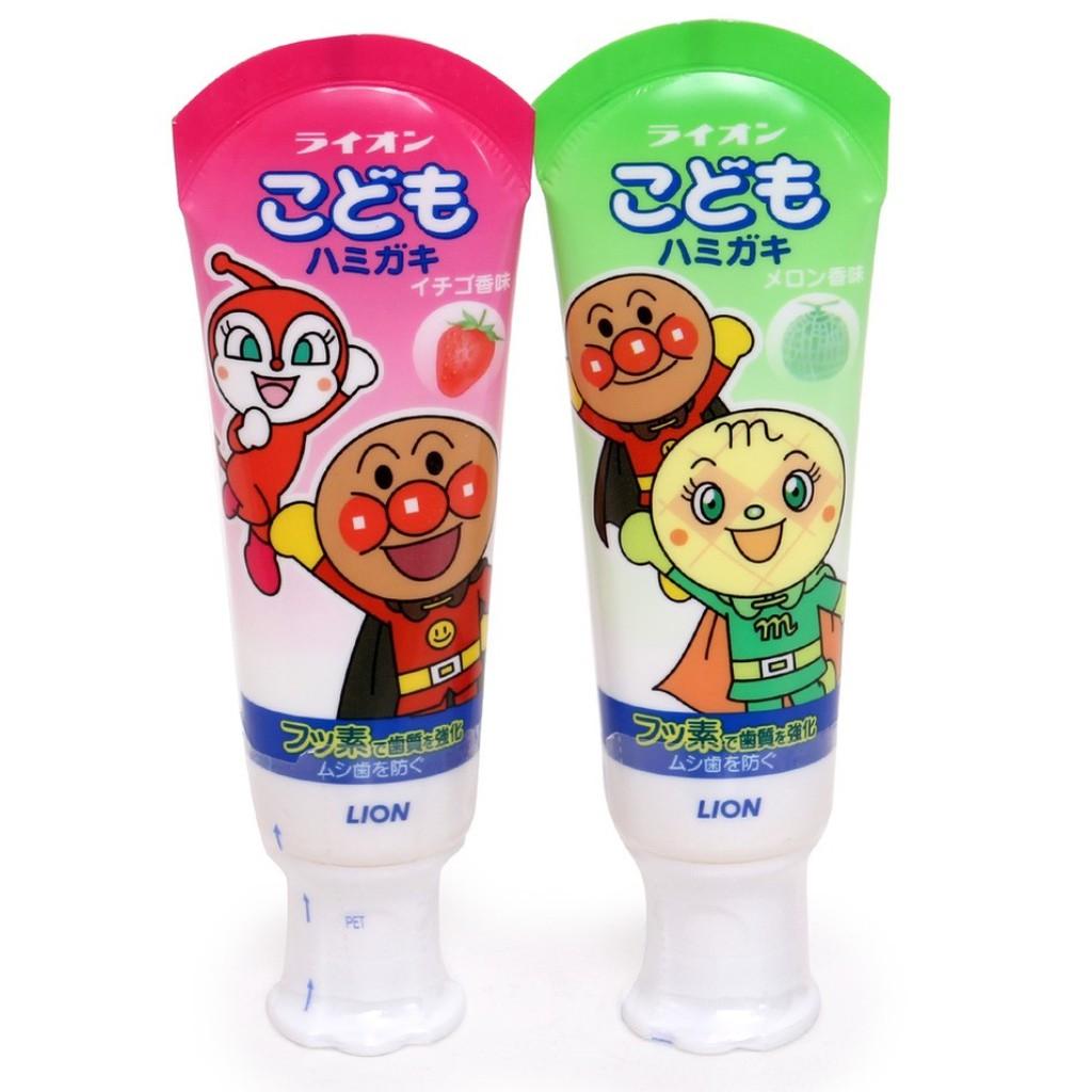 Kem đánh răng trẻ em LION 40g nội địa Nhật Bản - 3514171 , 808856233 , 322_808856233 , 69000 , Kem-danh-rang-tre-em-LION-40g-noi-dia-Nhat-Ban-322_808856233 , shopee.vn , Kem đánh răng trẻ em LION 40g nội địa Nhật Bản