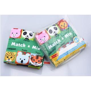 Sách vải FunnyZoo mix and match động vật cho bé