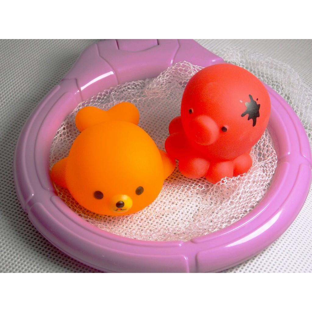 Bộ đồ chơi động vật thả vào bồn tắm