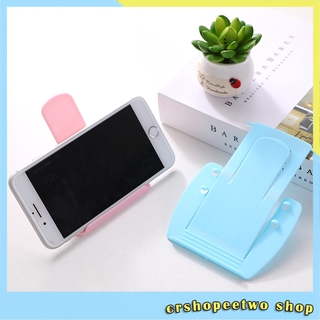 Multifunctional desktop mobile phone plastic stand portable folding mobile phone stand CTT