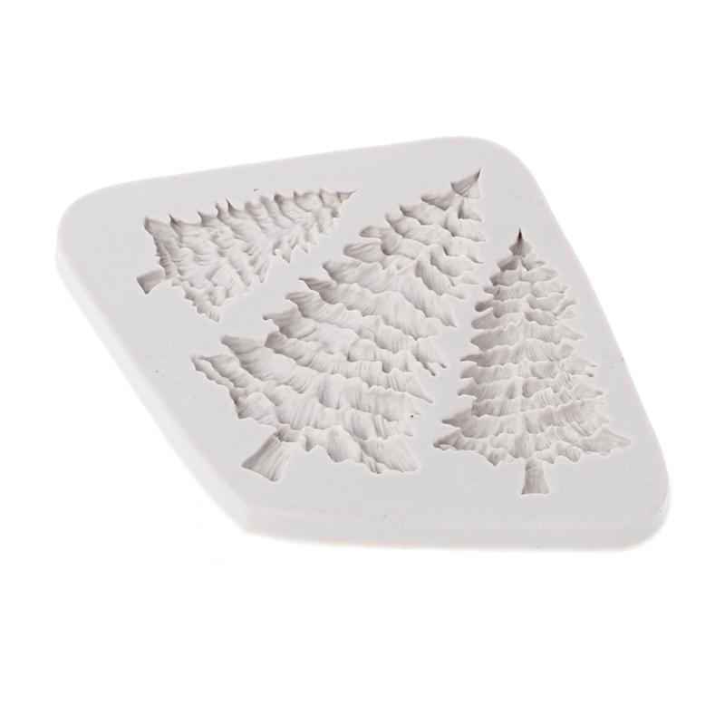 Khuôn silicon làm bánh đa năng hình cây thông Noel