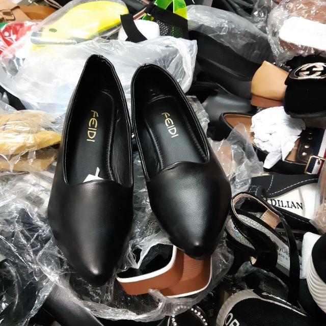 Giày búp bê da hàng việt nam cao cấp