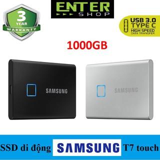 Ổ cứng SSD di động Samsung T7 Touch 1T Usb Type-C
