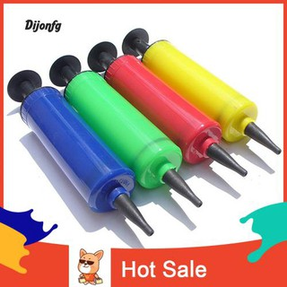 ♌Di 1 Pc Mini Portable Hand Manual Soccer Ball Party Balloon Inflator Air Pump Needle