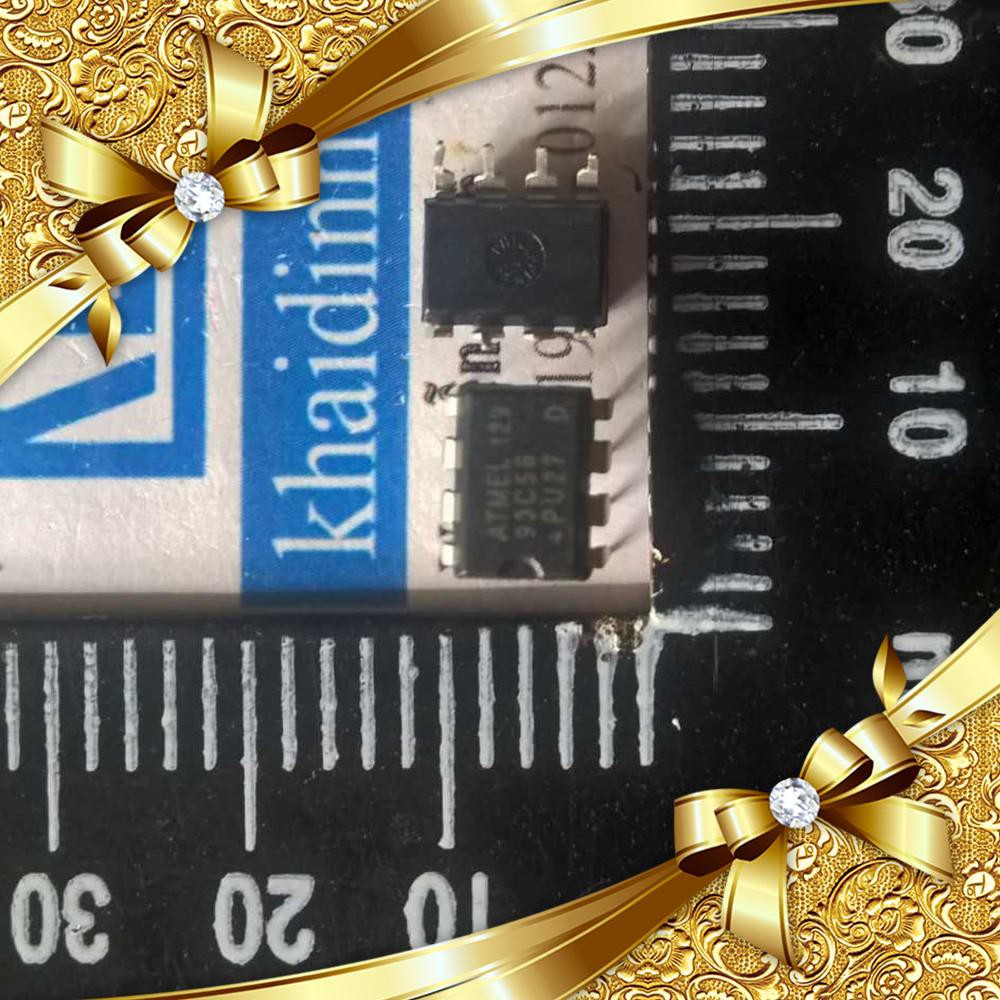 [CỰC ĐẸP] AT93C56 DIP-8 IC chíp nhớ EEPROM (5 con) kde1429 CỰC ĐẸP.