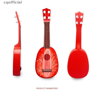 cqoffical Large Children'S Fruit Ukulele Can Play Mini Toys Children'S Educational Toys Available