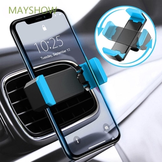 MAYSHOW Universal Flexible 360 Degree Rotation Cradle Bracket Car Phone Holder
