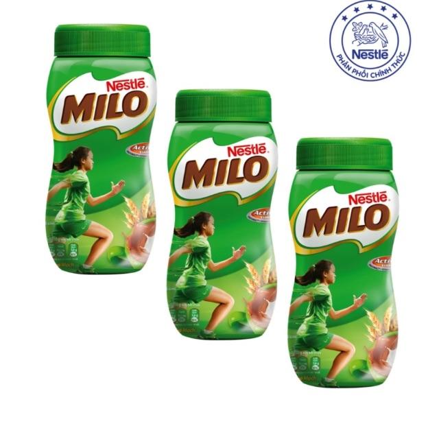 Sữa milo Nestle hộp nhựa 400g