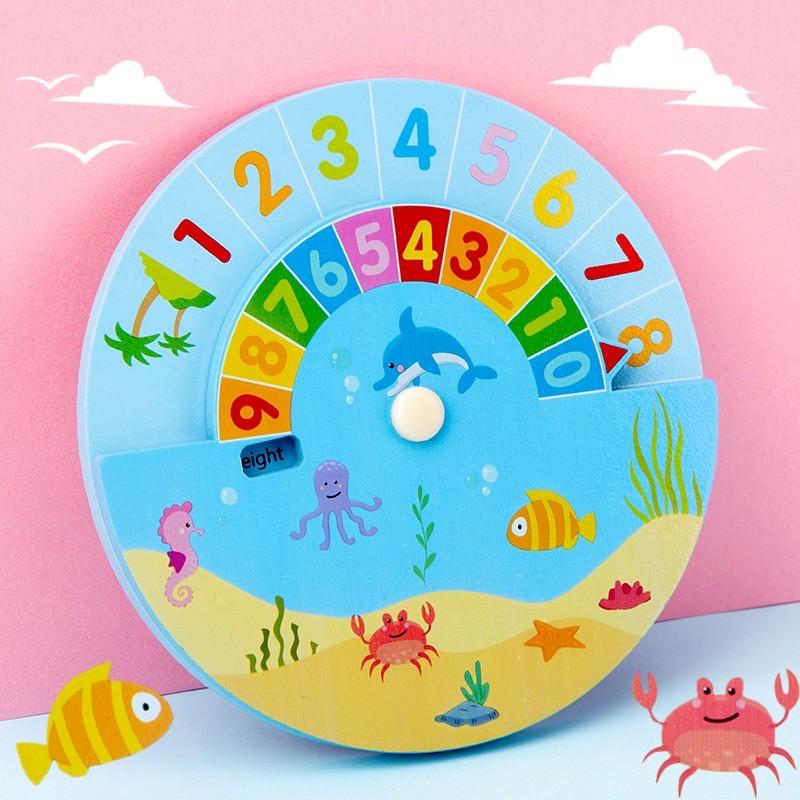 Bộ đồ chơi làm toán dành cho bé