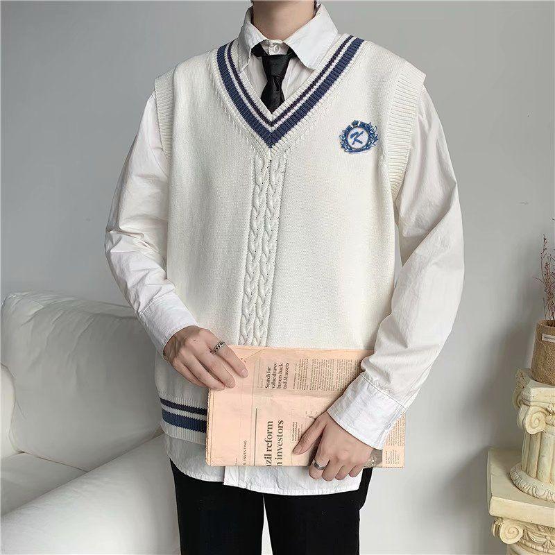 Áo Sweater không tay thời trang cá tính Tf1