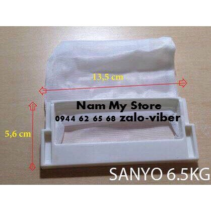 Túi lọc máy giặt sanyo 6.5-9kg chính hãng