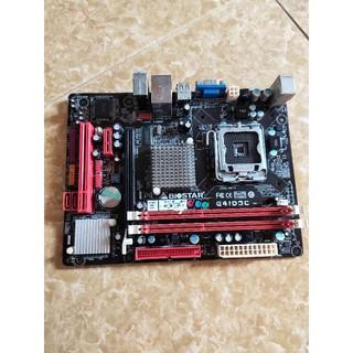 Main máy tính G41 SK775 Drr3 Tặng kèm CPU