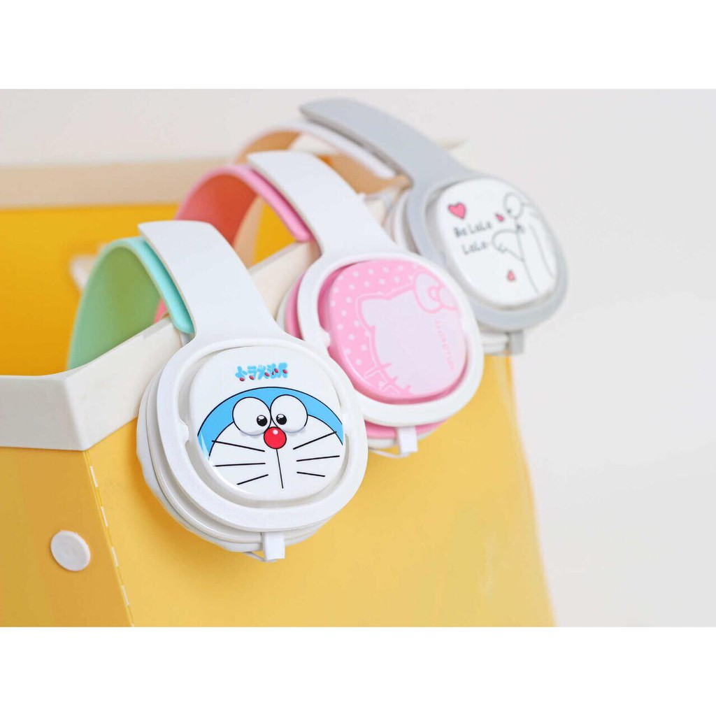 Headphone - Doraemon Hello Kitty - Cực Hot - Đáng Yêu