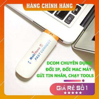 [RẺ TỤT QUẦN] DCOM USB 3G 4G MOBIFONE CHÍNH HÃNG, ĐỔI ĐIA CHỈ IP, MAC MÁY, GỬI TIN NHẮN HÀNG LOẠT, ĐA MẠNG, SIÊU BỀN BỈ