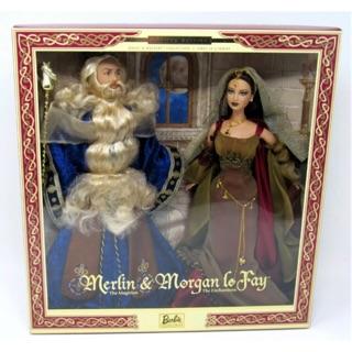 Set búp bê Merlin & Mogan Lo Fay