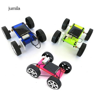 JL_Mini DIY Assembly Solar Panel Energy Car Vehicle Model Kids Educational Toy