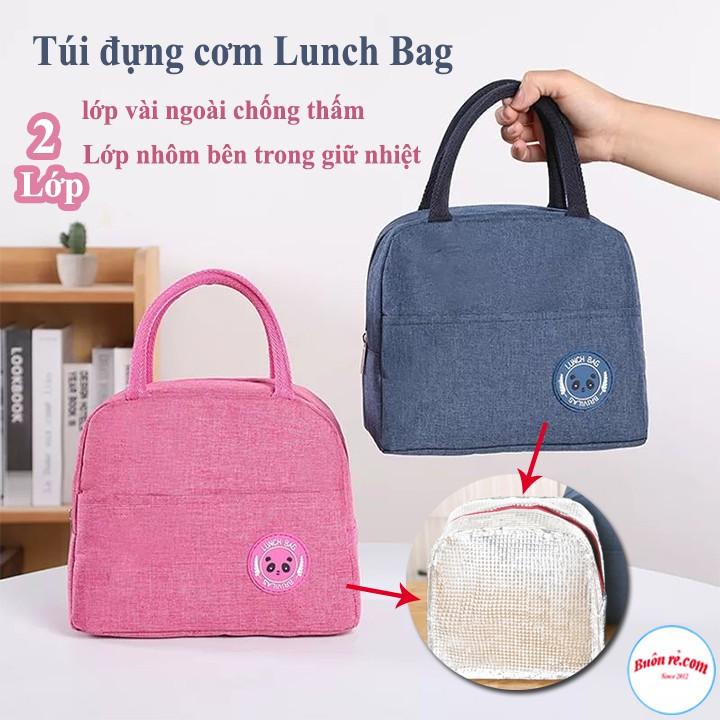 Combo Hộp cơm thủy tinh 3 ngăn 1000ml / Hộp thủy tinh tròn 400ml / Túi đựng cơm Lunch Bag / Bộ đũa thìa dĩa lúa mạch