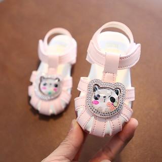 sandal cho bé gái mẫu xinh cao cấp Ankids 534