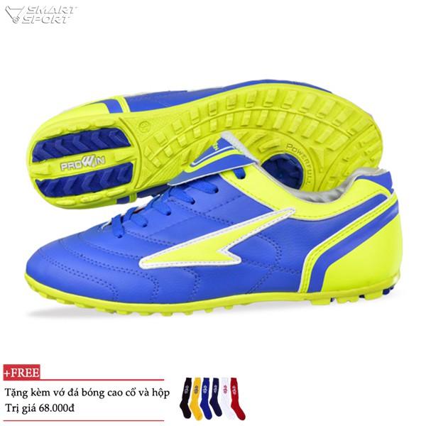 Giày đá bóng Prowin cao cấp xanh - nhà phân phối chính từ hãng