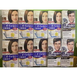 Thuốc nhuộm tóc phủ bạc Salon de pro số 2,3,4,5,5K,6,7 thumbnail