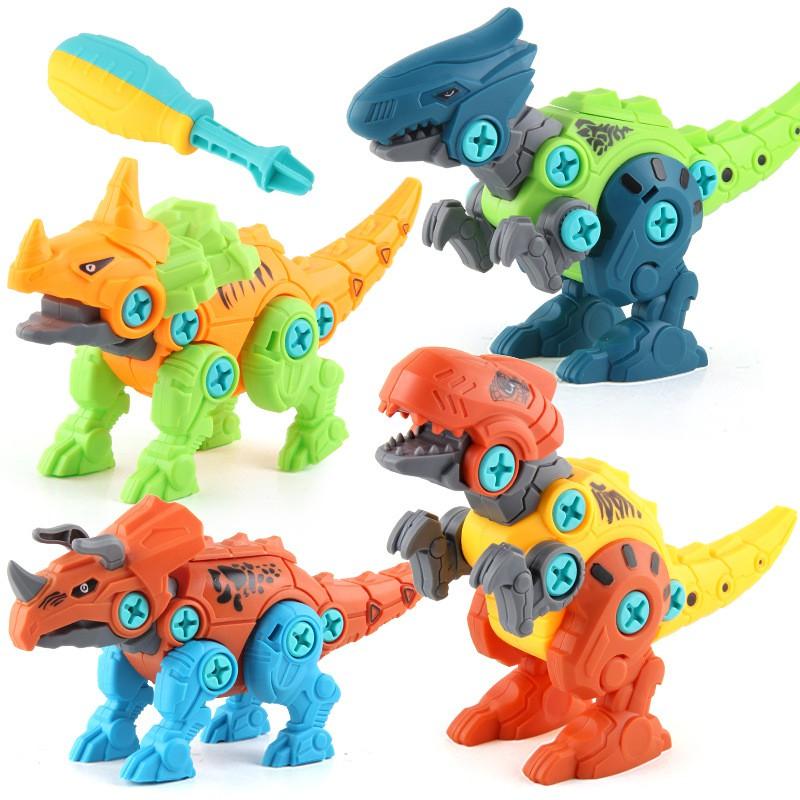 Đồ chơi lắp ghép mô hình con khủng long-màu sắc đẹp-bắt mắt-đầy sáng tạo-trò chơi thông minh-bổ ích cho các bé