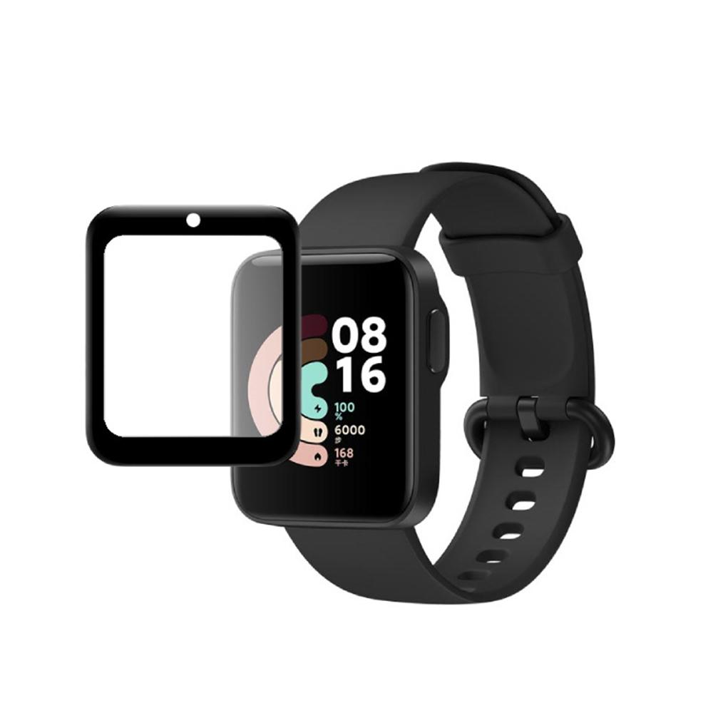 Set 1 / 2 Miếng Dán Màn Hình Cong Trong Suốt Chống Trầy Cho Điện Thoại for Xiaomi Mi Watch Lite
