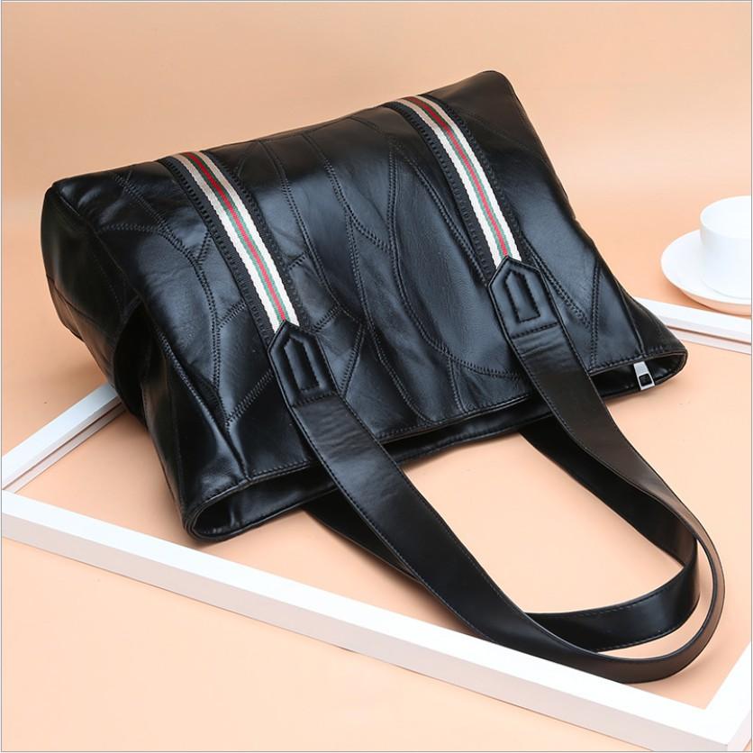 Túi xách nữ công sở bản to da mềm thời trang hàng quảng châu cao cấp - BS7
