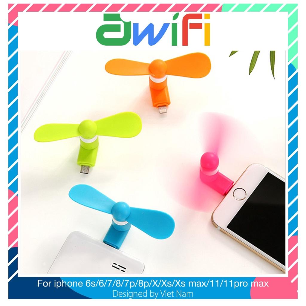 Quạt mini làm mát điện thoại thông minh - Awifi Case L3-1