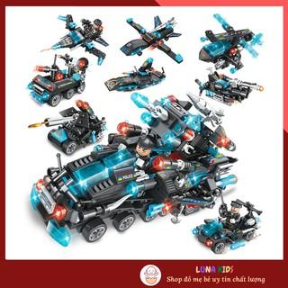Đồ Chơi Ghép Hình Lego Mini Mô Phỏng Các Loại Xe Cảnh Sát Thế Hệ Mới Có 8 Mẫu Lựa Chọn thumbnail