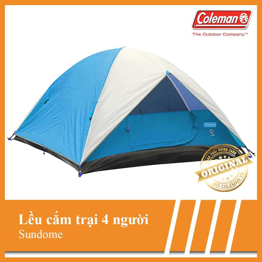 Lều cắm trại Coleman 4 người Sundome 2000028934 - Hãng phân phối chính thức - 3406515 , 664342910 , 322_664342910 , 5143000 , Leu-cam-trai-Coleman-4-nguoi-Sundome-2000028934-Hang-phan-phoi-chinh-thuc-322_664342910 , shopee.vn , Lều cắm trại Coleman 4 người Sundome 2000028934 - Hãng phân phối chính thức
