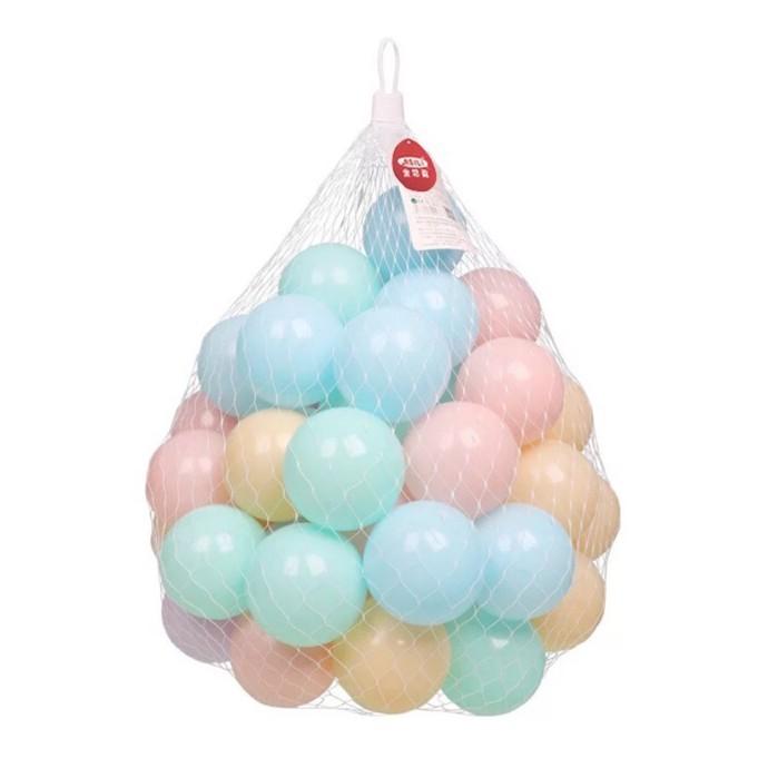 Combo 50 bóng nhựa mềm màu pastel cho bé yêu