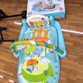 Thảm nhạc nằm cho bé baby's piano gym mat