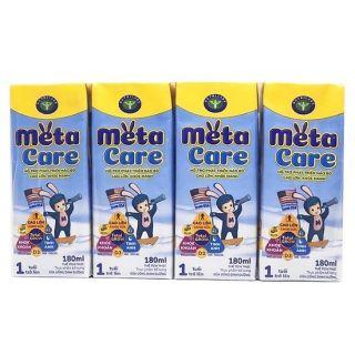 Thùng 48 hộp Sữa Metacare Nhãn vàng loại 180ml