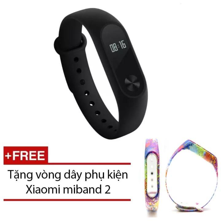Vòng đeo tay xiaomi Miband 2 chính hãng tặng kèm dây thay thế