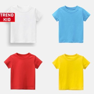 [Mã TREND20 giảm 15% đơn 99K] Áo phông cho bé trai bé gái nhiều màu michley
