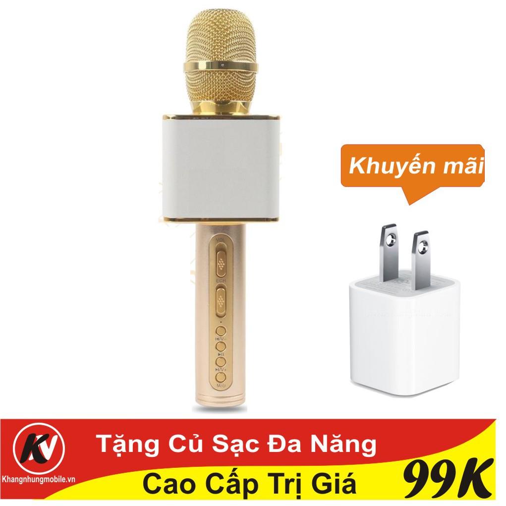 Combo Mic hát karaoke Bluetooth SD-08 cao cấp (vàng) Kim Nhung + Củ sạc đa năng - 3379986 , 1082011545 , 322_1082011545 , 290000 , Combo-Mic-hat-karaoke-Bluetooth-SD-08-cao-cap-vang-Kim-Nhung-Cu-sac-da-nang-322_1082011545 , shopee.vn , Combo Mic hát karaoke Bluetooth SD-08 cao cấp (vàng) Kim Nhung + Củ sạc đa năng