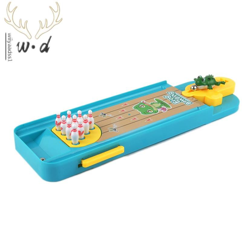 Mini Desktop Bowling Game Toys Fun Indoor Interactive Table Sports Games Toys Bowling Table Toys