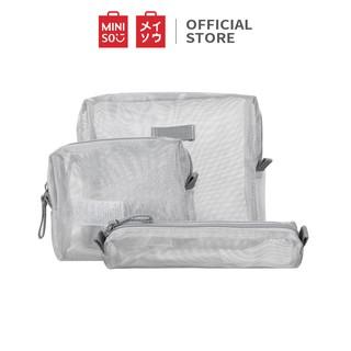 Túi đựng đồ du lịch 3 món(Silver) Miniso thumbnail