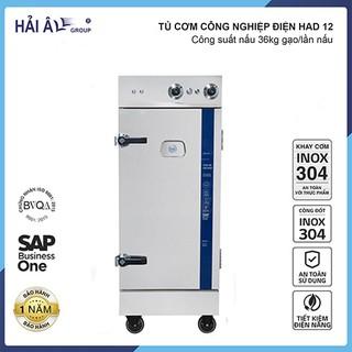 Tủ cơm công nghiệp điện Hải Âu HAD 12