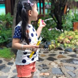 Combo áo và quần TOMMY bé gái 1-8 tuổi