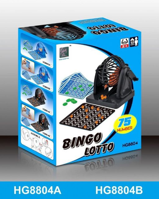Bộ logo đồ chơi loto Bingo