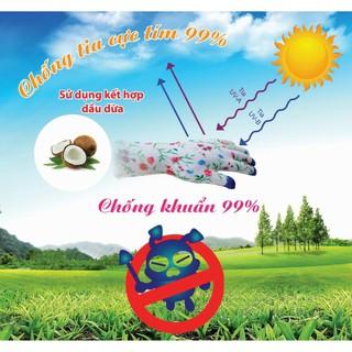 Găng tay chống nắng cảm ứng găng tay Hàn Quốc chống tia cực tím hàng cty Việt Nam thumbnail
