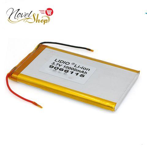 Pin Lithium-Polymer 3.7V 10000mAh 1260100 mới 100% Chuẩn dung lượng