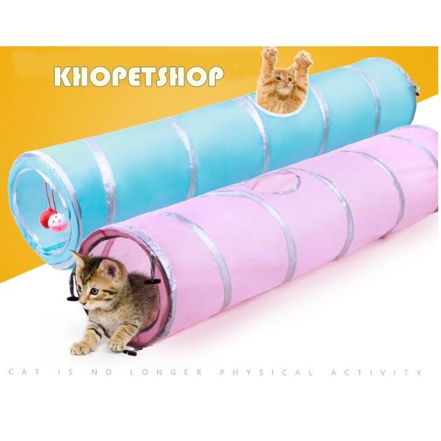 Đồ chơi ống cho mèo