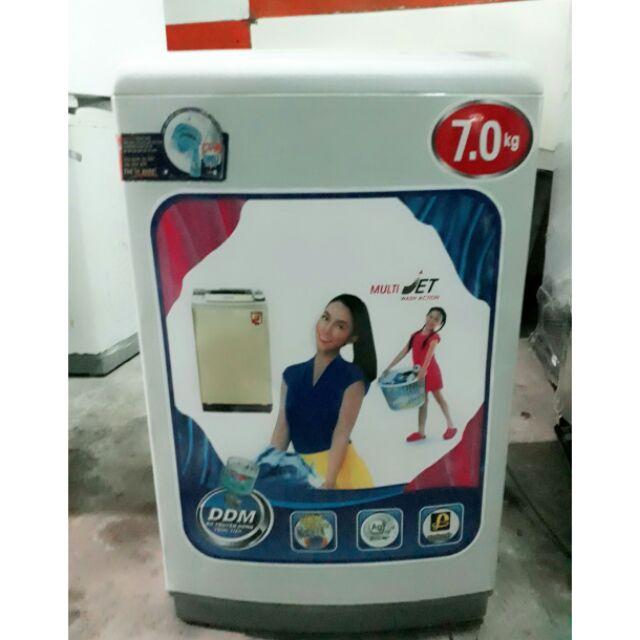 Máy giặt SANYO 7KG nguyên zin, giặt sấy êm ru - hỗ trợ lắp đặt