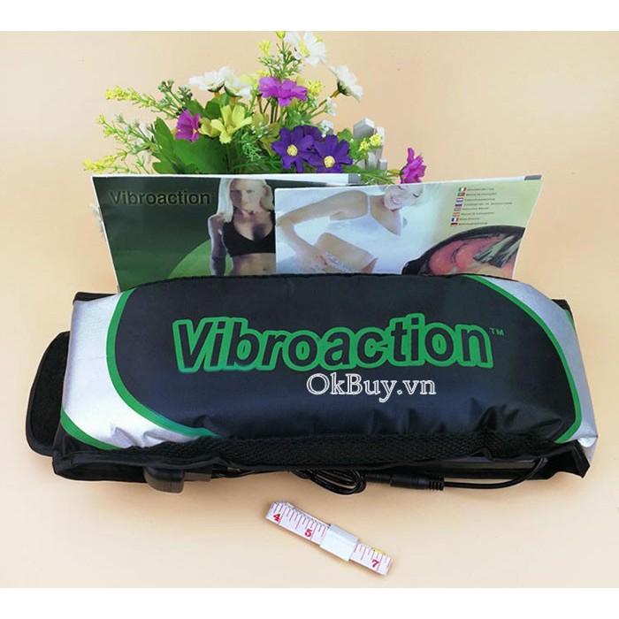 Máy Massage Bụng 💝Freeship💝 Máy đánh tan mỡ bụng Vibroaction chính hãng giá rẻ