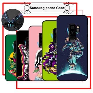 Ốp Điện Thoại Silicon Mềm In Hình Vans Nghệ Thuật Cho Samsung A9 A10 A10s A20 A30 A20s A20e A40 A40s A50 Hoạt Hình