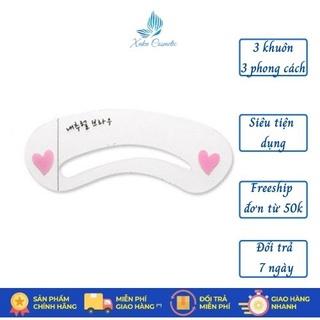 Khuôn kẻ Lông mày Mini Brow Class 3 Khuôn chuẩn đẹp Khuôn kẻ chân mày Xuka mã MBC3 thumbnail